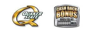 Quaker State and Cash Back Bonus
