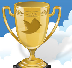 The Twitter Madness Championship Trophy