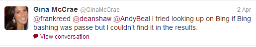 McCrae Looks back