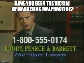 Marketing Malpractice